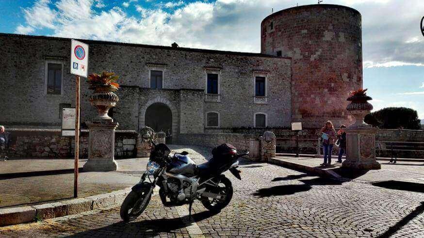 Ingresso del Castello di Venosa