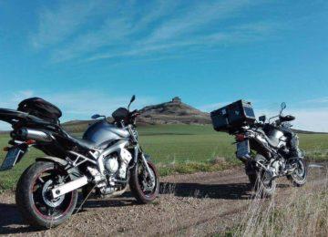 Il castello di Monteserico: come raggiungerlo in moto.