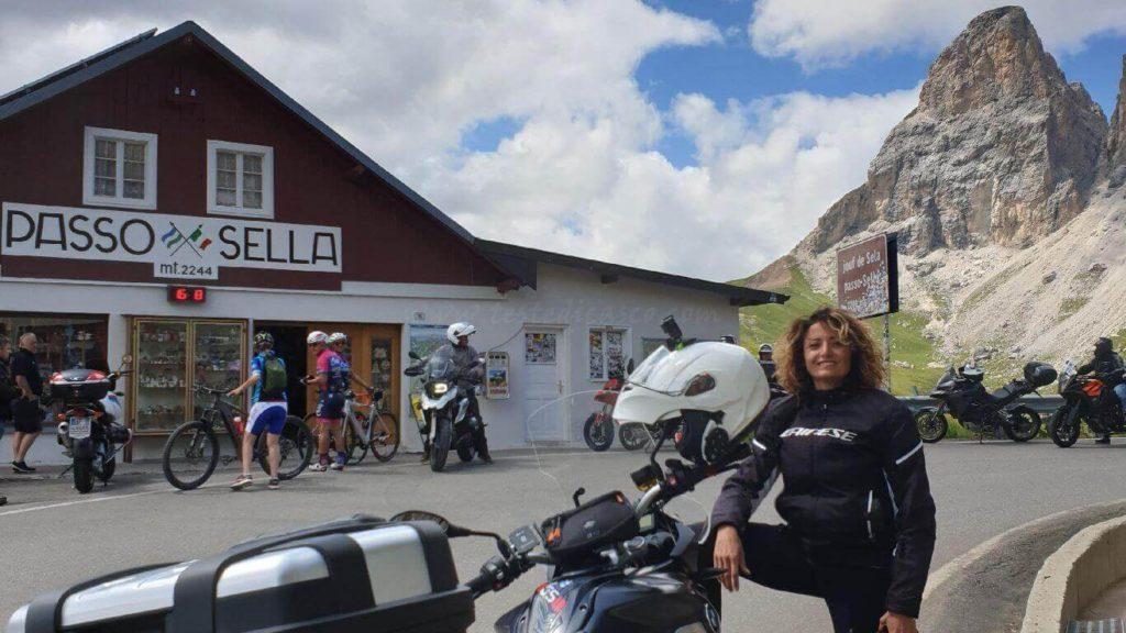 L'Anello del Sella itinerario in moto sulle Dolomiti