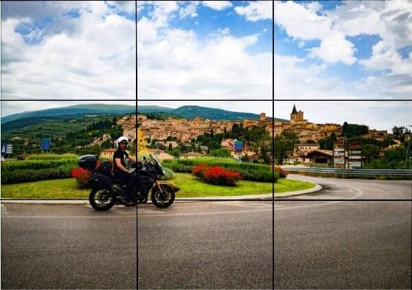 scattare belle foto in moto