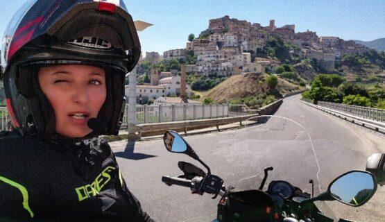 Sila itinerario in moto